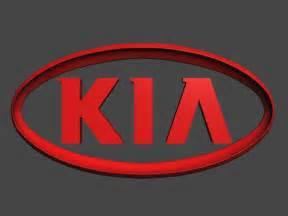 Kia Different Logo Kia Logo 3d Model Max Obj Cgtrader