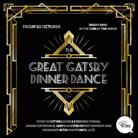 gatsby dinner great gatsby dinner what s it all about 187 students