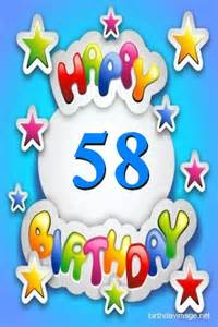 58th birthday wishes happy birthday