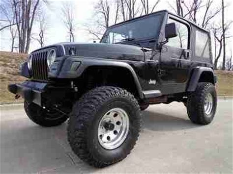 2000 Jeep Lifted Purchase Used 2000 Jeep Wrangler No Reserve Lifted Clean