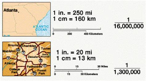 what is a map scale math dictionary scale map