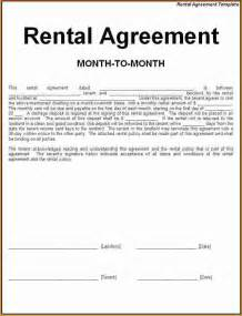 5 simple one page rental agreement printable receipt