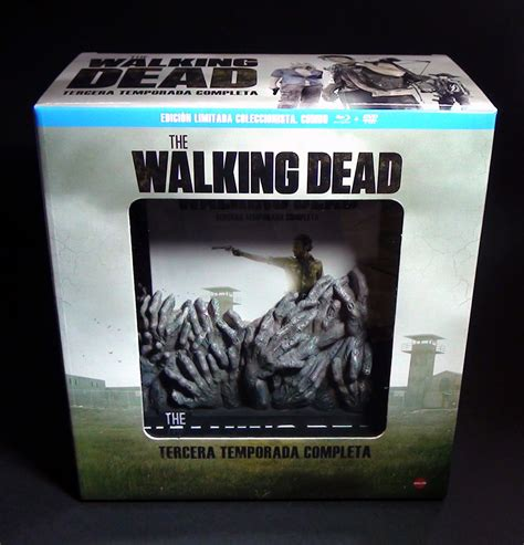 The Walking Dead The Complete 3rd Season Dvd New Sealed the walking dead the complete third season limited