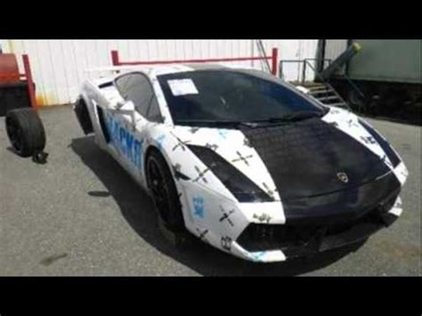 Wrecked Lamborghini Aventador For Sale Salvage Lamborghini