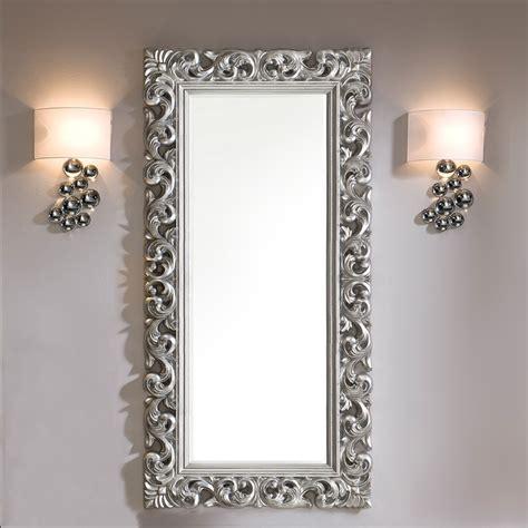 miroirs contemporains miroir contemporain argent