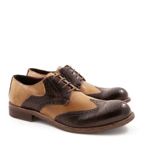 Handmade Italian Mens Shoes - handmade brogue shoes for in italian leather