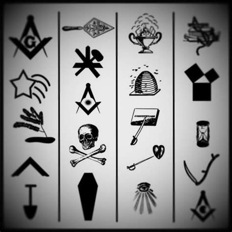 masonic trestle board tattoo pinterest