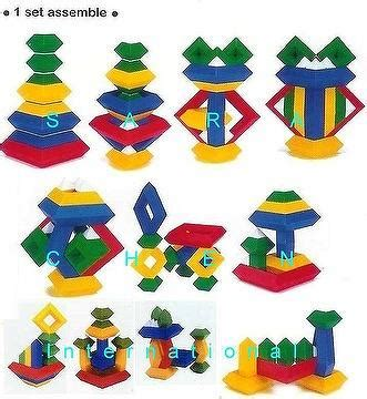 taiwan toys, triangle puzzles (3d puzzle) | sara chen