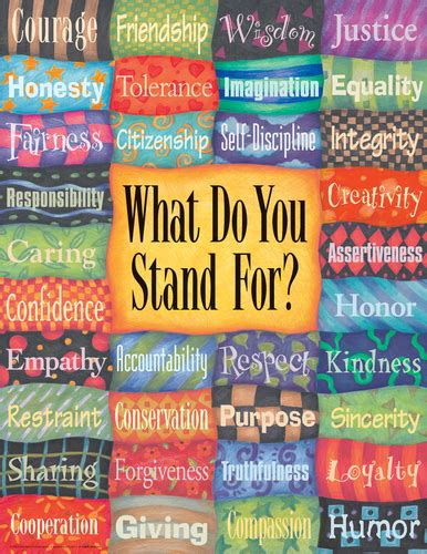 Do Stands For by What Do You Stand For Poster 9781575424019 Free