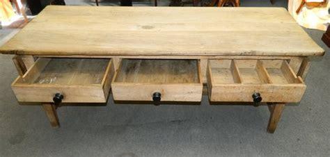 large scrubbed oak kitchen table antiques atlas
