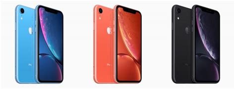 apple reveals iphone xr with 6 1 inch liquid retina lcd display and six color options starting