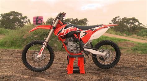 Ktm 250 Sxf Review Mxtv Bike Review 2015 Ktm 250 Sx F Derestricted