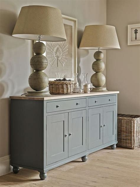 Grey Dining Room Sideboard Cottage Dining Room Features Walls Painted Taupe Lined