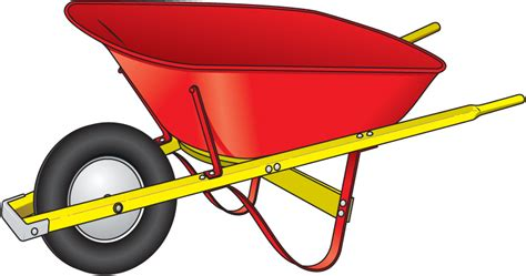 wheelbarrow clipart wheelbarrow free clipart