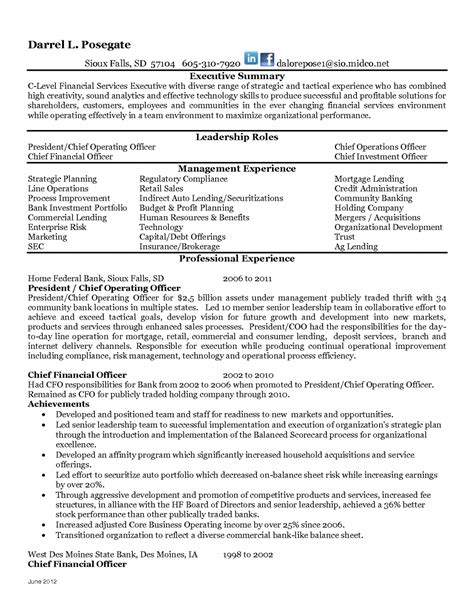 bank compliance officer resume exle pictures hd