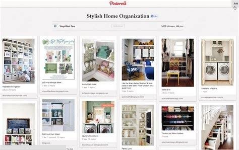 home organization inspiration from pinterest lex and learn reverb 11 day 9 inspiration the modchik