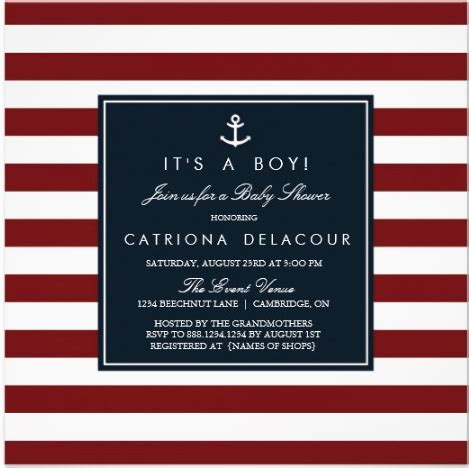 free nautical baby shower invitation templates free nautical baby shower invitation templates