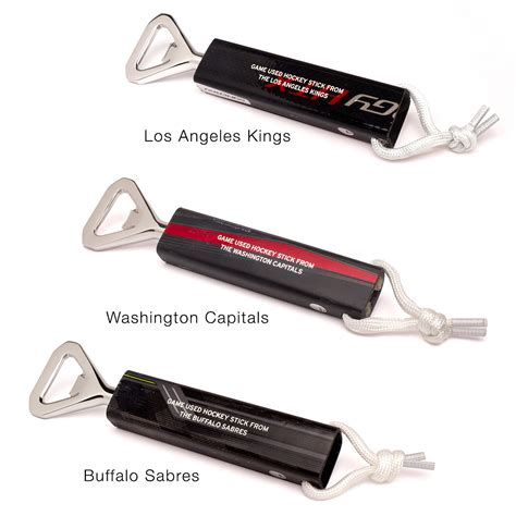 gifts for hockey fans used hockey stick bottle opener great gifts for