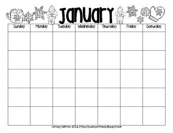 printable calendar black and white monthly printable black and white calendar pack