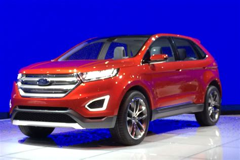 ford edge concept suv pictures auto express