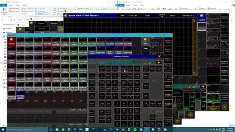 layout view grand ma grandma2 plugin color grid macro generator youtube