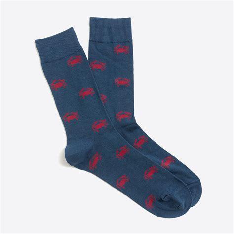patterned socks crab socks factorymen patterned socks factory