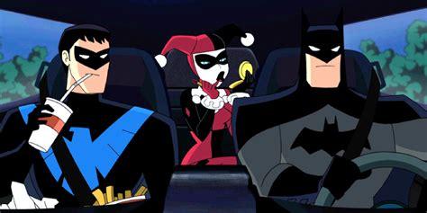 New Wig Harley Squad Justice League Joker batman and harley quinn look screen rant