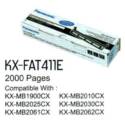 Toner Panasonic Kx Fat411e jual panasonic kx fat411e fax toner dtc modern living