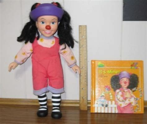 lunette from the big comfy couch the big comfy couch loonette doll and book it s mine