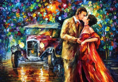 Lukisan Bunga Pallet Kode D1 19 leonid afremov 1955 the impressionist tutt pittura scultura poesia musica