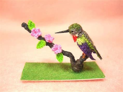 amigurumi hummingbird pattern super cute ruby throated hummingbird micro amigurumi