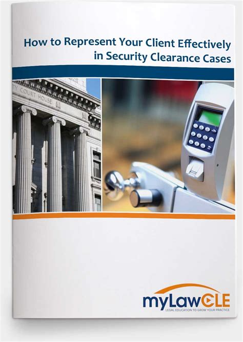 security clearance issues problems denials and revocations books how to represent your client effectively in security