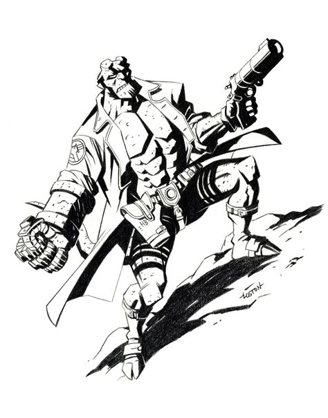 Hellboy Coloring Pages s 20 best t shirt designs in catalog shopzone history