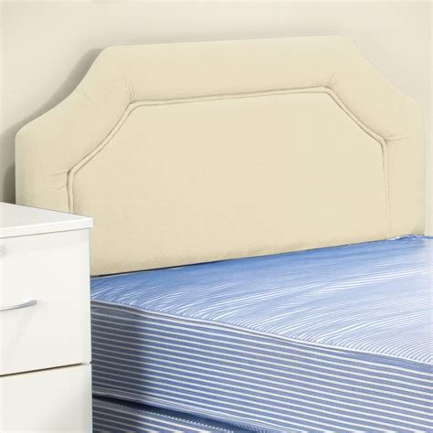 faux headboards divan headboard faux leather cream