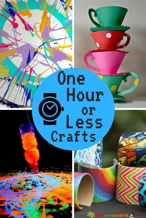 quick  easy crafts  hour