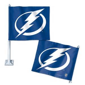 Lightning Car Flags Pin Lightning Flag On