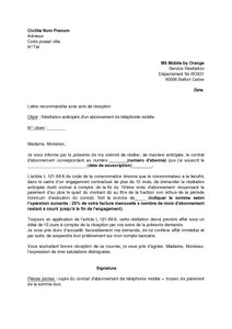 Lettre De Resiliation Mobile Credit Mutuel Modele Lettre Resiliation Carte Credit