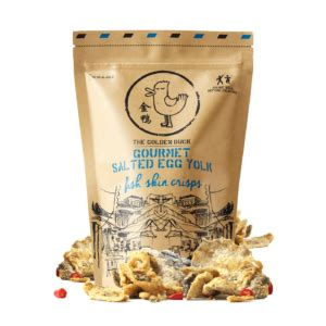 Gourmet Salted Egg Yolk Potato Chips home page the golden duck co