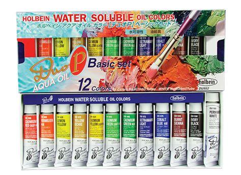 du952 basic set of 12 colors 15ml hk holbein artist
