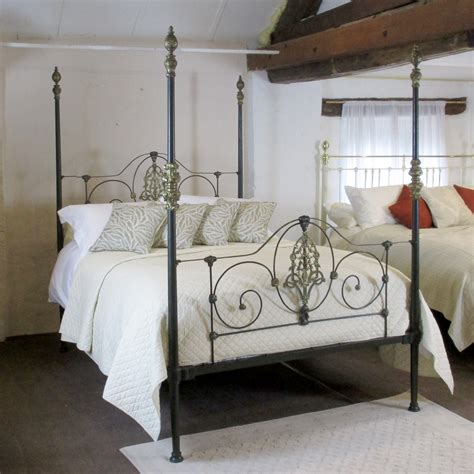 post beds cast iron four poster bed m4p11