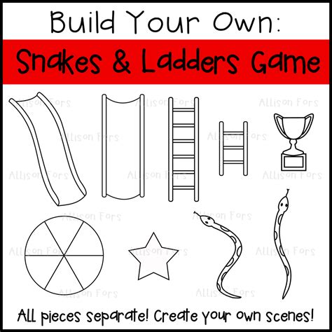 chutes and ladders board template build your own snakes and ladders board allison fors