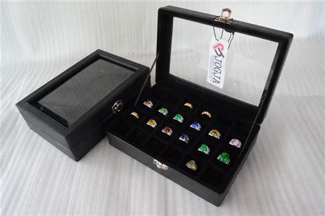 Isi 24 Petak Kotak Batu Akik Box Cincin Batu Akik K Murah 1 ring box kotak cincin box cincin akik tempat cincin isi