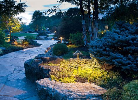 landscape path light path lights illinois landscape supply