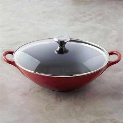 le crueset wok le creuset signature wok williams sonoma