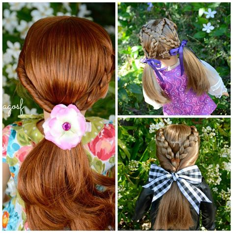 cute hairstyles for kit the american girl doll cute american girl doll hair salon hairstyles hd watch in