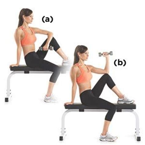 external rotation on bench seated dumbbell external rotation fitness motivation