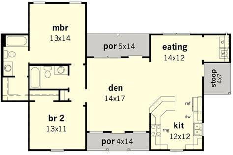economical floor plans economical ranch home 83089dc 1st floor master suite