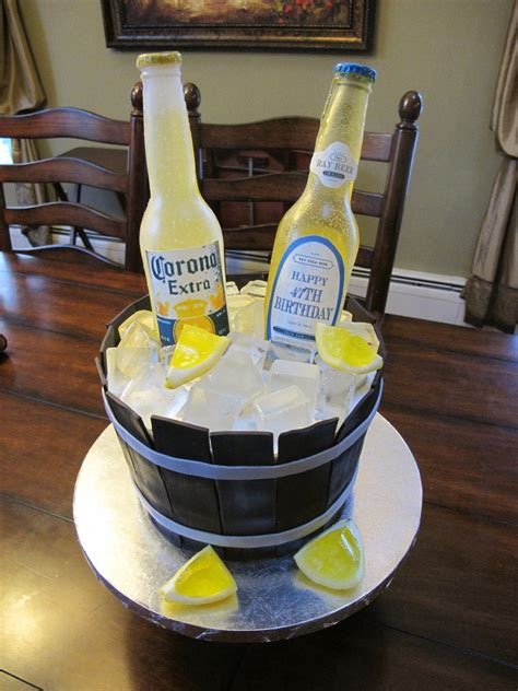 Beer Bottle Cake Cakecentral M