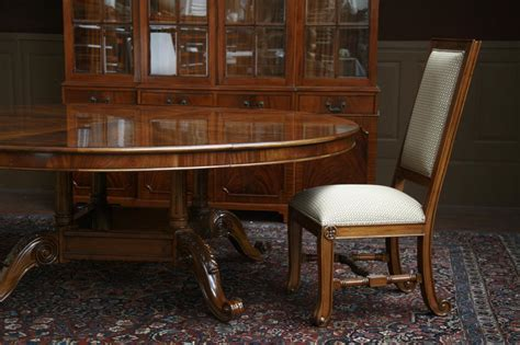 mahogany dining room table 84 quot high end large brown mahogany dining table dining room table ebay