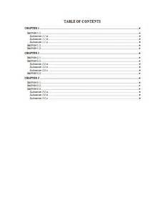 office table of contents template table of contents template word tristarhomecareinc